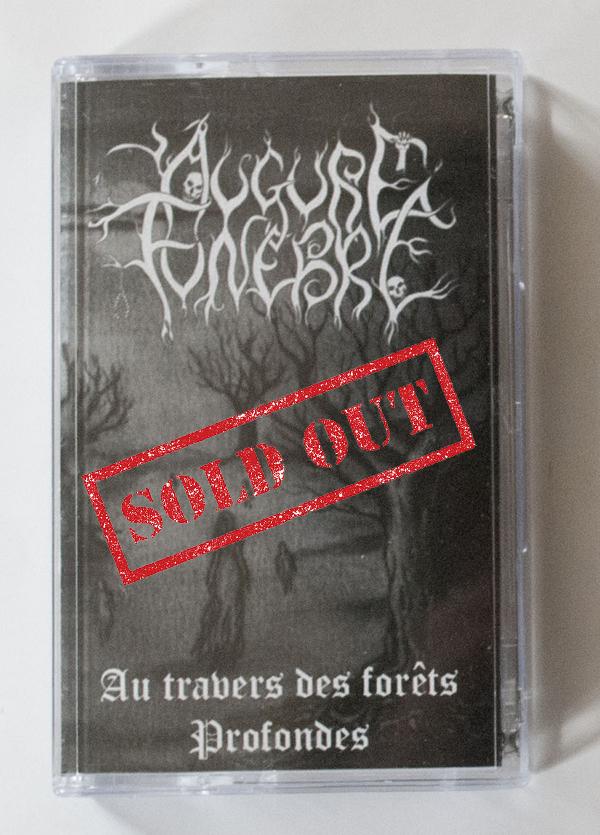 """""""Au travers des forêts profondes"""" tape sold out!"""